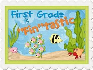 First Grade is Fintastic